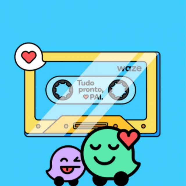 Waze permite que filhos gravem pack de voz para rota dos pais